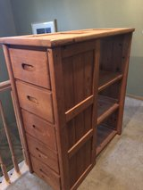 5 drawer dresser with shelves in Joliet, Illinois