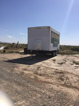 14 box insulated box trailer over head door in Alamogordo, New Mexico