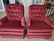 2 Ethan Allen Swivel Rockers in Joliet, Illinois