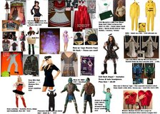 Adult Size Costumes Halloween Party Costume Lot ALL Sizes Some Are NEW Fancy Dress Mens Womens in Kingwood, Texas