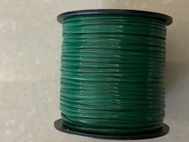 "New Rexlace Plastic Craft Lace, 3/32"", Green in Okinawa, Japan"