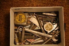 box of tools odds and ends in Alamogordo, New Mexico