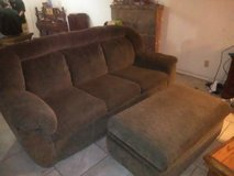 Nice  clean couch and foot stool storage in 29 Palms, California