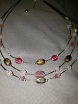 multi strand pink necklace in bookoo, US