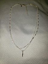 silver small cross necklace in Shorewood, Illinois