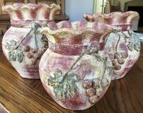 Pottery Mexican Pottery / Set of 3 / New (email for pictures in Kingwood, Texas