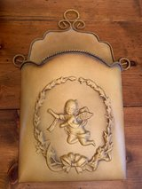 Southern Living at Home Angel Cherub Glorious Metal Door Bucket in Tomball, Texas