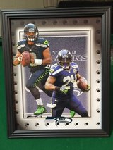 *** SEAHAWKS - Wilson & Lynch 8x10 framed print Lithograph *** (NEW) in Tacoma, Washington