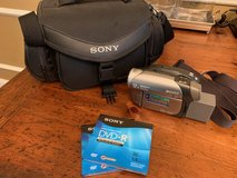 Sony Handycam with Sony carrying case in Houston, Texas