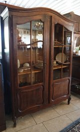 antique solid oak display cabinet in Stuttgart, GE