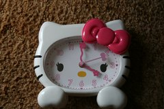 Hello Kitty clock in Alamogordo, New Mexico