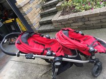 2010 City Select Double Stroller in Bolingbrook, Illinois