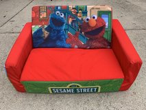 Sesame Street Kids Toddler Futon Lounger Couch Chair in Batavia, Illinois
