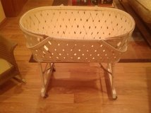 Vintage White Bassinet in Chicago, Illinois