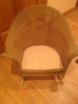 Vintage Child Wicker Rocker in Chicago, Illinois