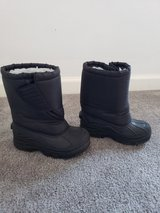 Size 13 Toddler Black Winter Snow Boots in Fort Campbell, Kentucky