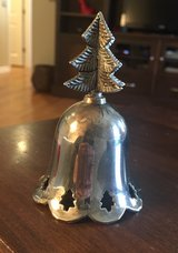 Silverplated Tree Bell in Shorewood, Illinois