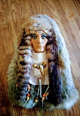vintage native American mask in 29 Palms, California