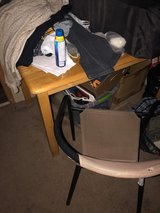 Kitchen table with one chair in Fort Riley, Kansas