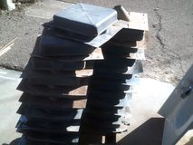 "11.5"" X  11.5"" Metal square roof vents in Alamogordo, New Mexico"