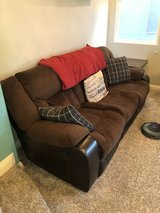 Recliner couch in Nellis AFB, Nevada