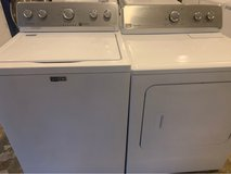 Maytag washer and dryer electric in Cleveland, Texas