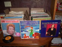 251 VINTAGE LP'S  78'S AND 45 RPM RECORDS  COUNTRY-CHRISTMAS-MUSICALS-CLASSICAL in Warner Robins, Georgia