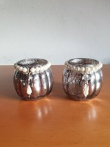 Silver Candle Holders in Ramstein, Germany