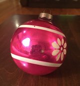 Pink Ornament in Yorkville, Illinois