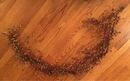Faux Berry Garland in Yorkville, Illinois