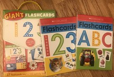 Scholastic flash card set and lacing in Warner Robins, Georgia