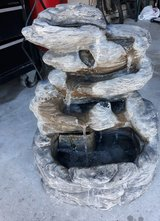 Outdoor water fountain in Spring, Texas