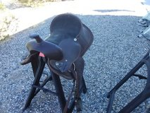 Light riding saddle in Yucca Valley, California