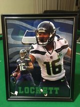 *** SEAHAWKS - Tyler Lokett 8x10 framed Lithograph *** (NEW) in Tacoma, Washington