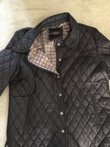 Coach Women's  Brown Quilted Jacket, Signature Lining-XL in Naperville, Illinois