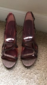 Glitter pumps size 9 in Pasadena, Texas
