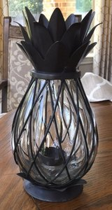 Pier 1 / Glass Metal Pineapple Table Decor in Conroe, Texas