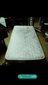 Twin size bed with mattress in Fort Polk, Louisiana