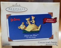 Hallmark ornament Dr. Seuss Hop on Pop in Ramstein, Germany