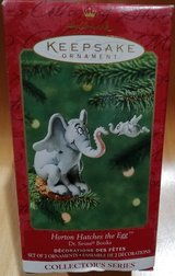 Hallmark ornament Dr. Seuss Horton hatches the egg in Ramstein, Germany