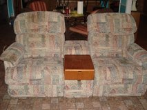 Double Recliner w/Center Console in Fort Polk, Louisiana