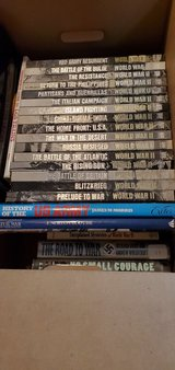 WWII hardcover books 17+ by Time Life in Naperville, Illinois