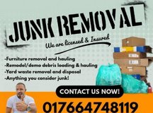 .TRASH&JUNK REMOVAL SERVICE&FREE ESTIMATE in Ramstein, Germany