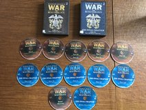 War and Remembrance DVD Set- Complete Set - Parts I-XII - 12 DVDs in Naperville, Illinois