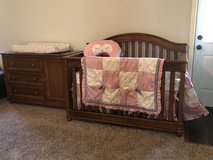 Crib Dresser/Changing Table (Complete Nursery) in Fort Campbell, Kentucky