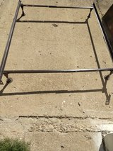 full size metal bed frame. in Alamogordo, New Mexico