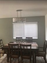 Dining Table with extension with Six Chairs in Miramar, California