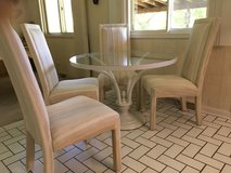Set of 6 Dining chairs/Upholstered in Naperville, Illinois