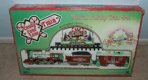 New Bright Candy Cane Lane Musical Animated Christmas Train Set in St. Charles, Illinois