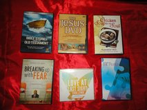 Collection of Spiritual, Religious & Self-help DVD's & CD's - see attached photo's & list in post in Spring, Texas